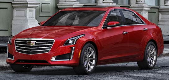 2017 Cadillac CTS Red Obsession Tintcoat