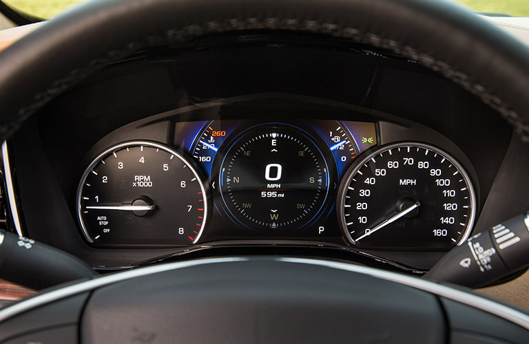 Instrument panel in 2018 Cadillac XT5