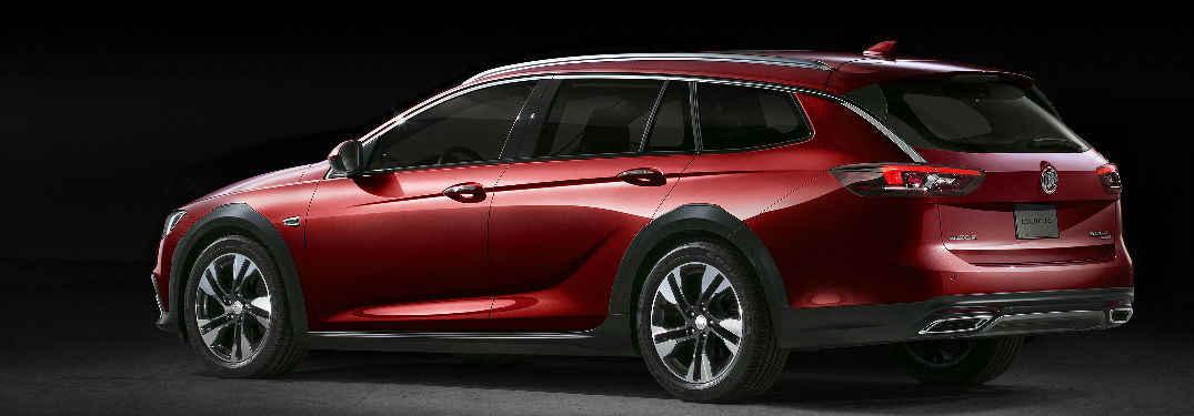 What colors is the new Buick Regal TourX available in?