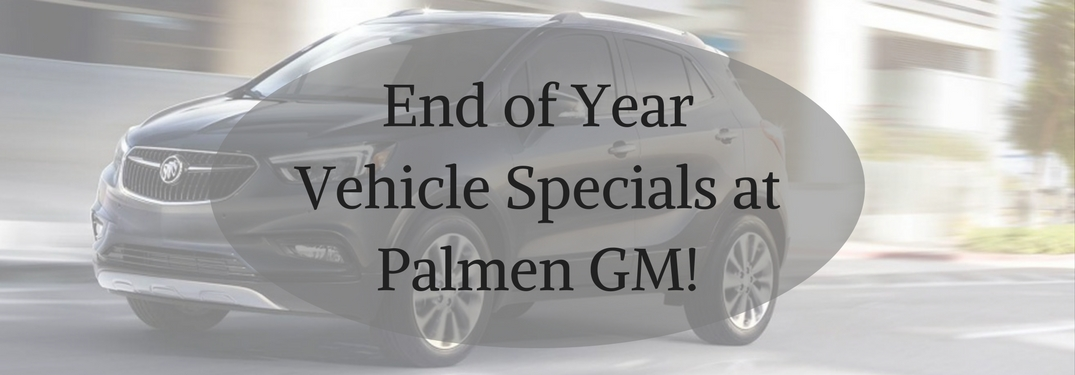 End the Year with a bang at Palmen Buick GMC Cadillac!