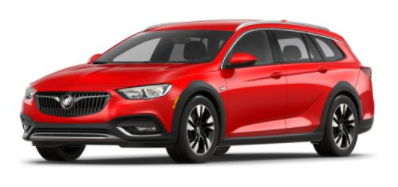 2018 Buick Regal TourX Sport Red