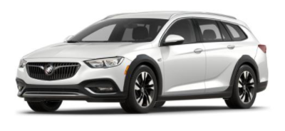 2018 Buick Regal TourX White Frost Tricoat