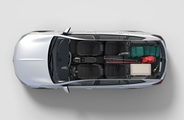 birds eye view of 2018 Buick Regal TourX