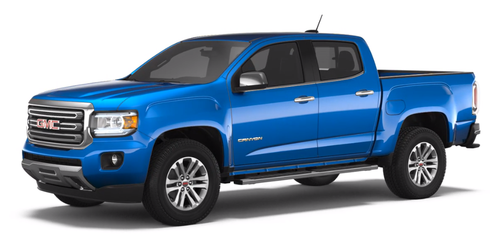 2018 GMC Canyon Color Options