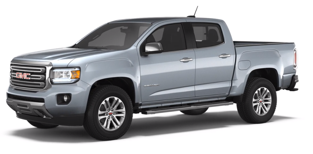 2018 GMC Canyon Colours