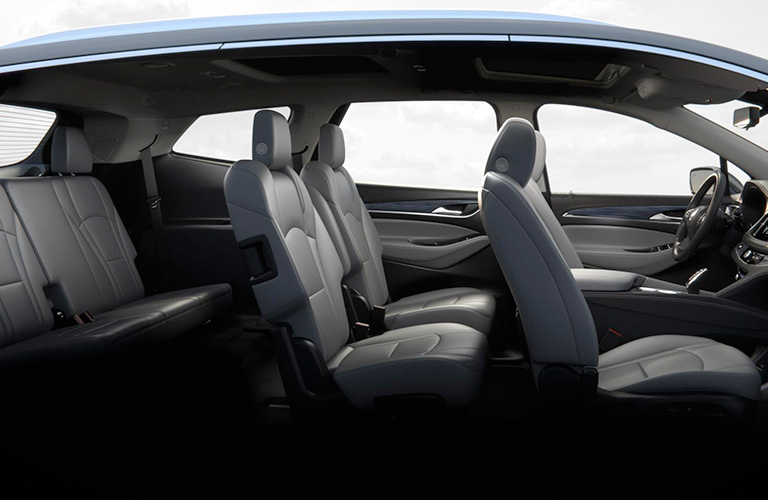 seating space in 2018 Buick Enclave