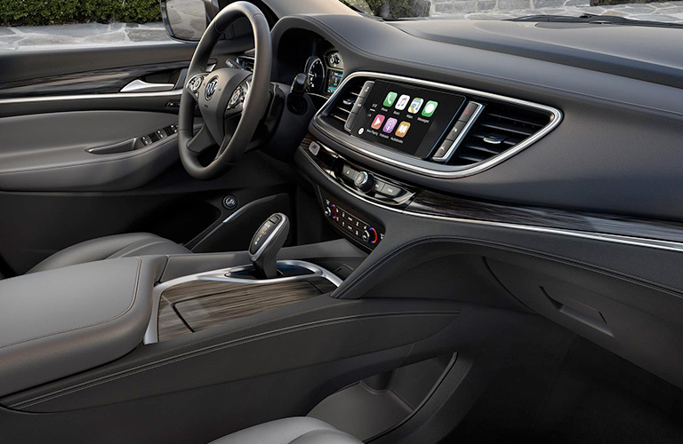 dashboard design in 2018 Buick Enclave