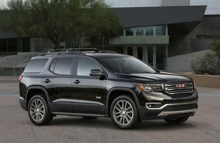 2018 GMC Acadia parked