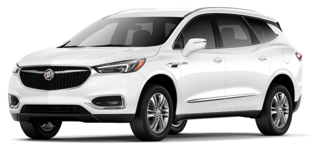 White 2018 Buick Enclave