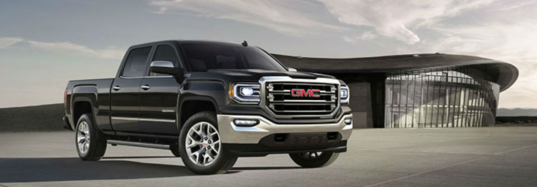 Black 2018 GMC Sierra 1500 parked