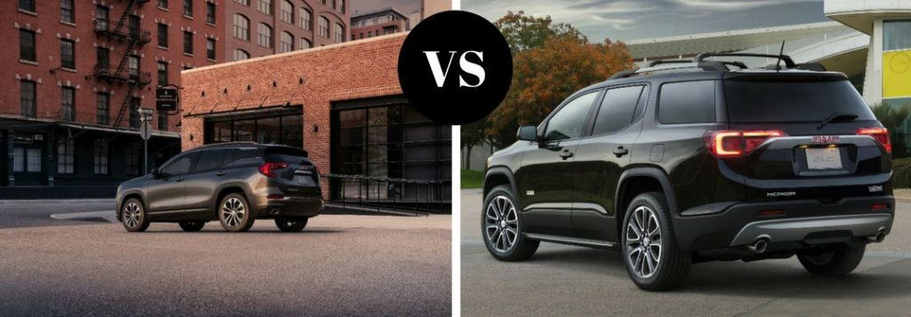 2018 Gmc Terrain Vs 2018 Gmc Acadia