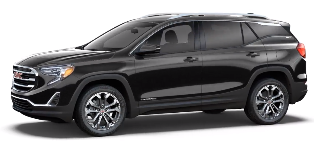 Black 2018 GMC Terrain SLE trim