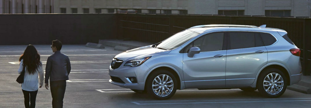 2019 Buick Envision parked in a parking lot