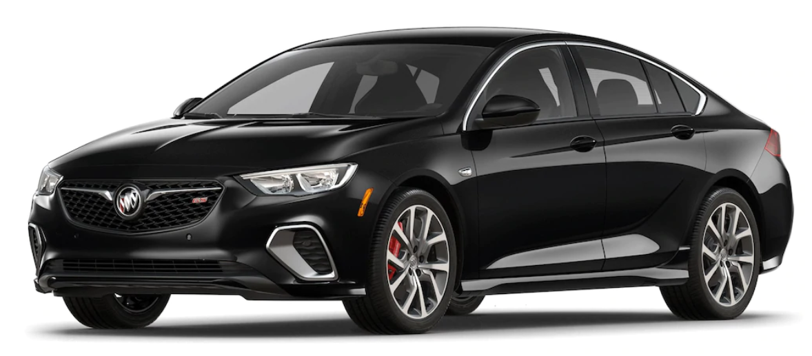 2018 Buick Regal GS Ebony Twilight Metallic