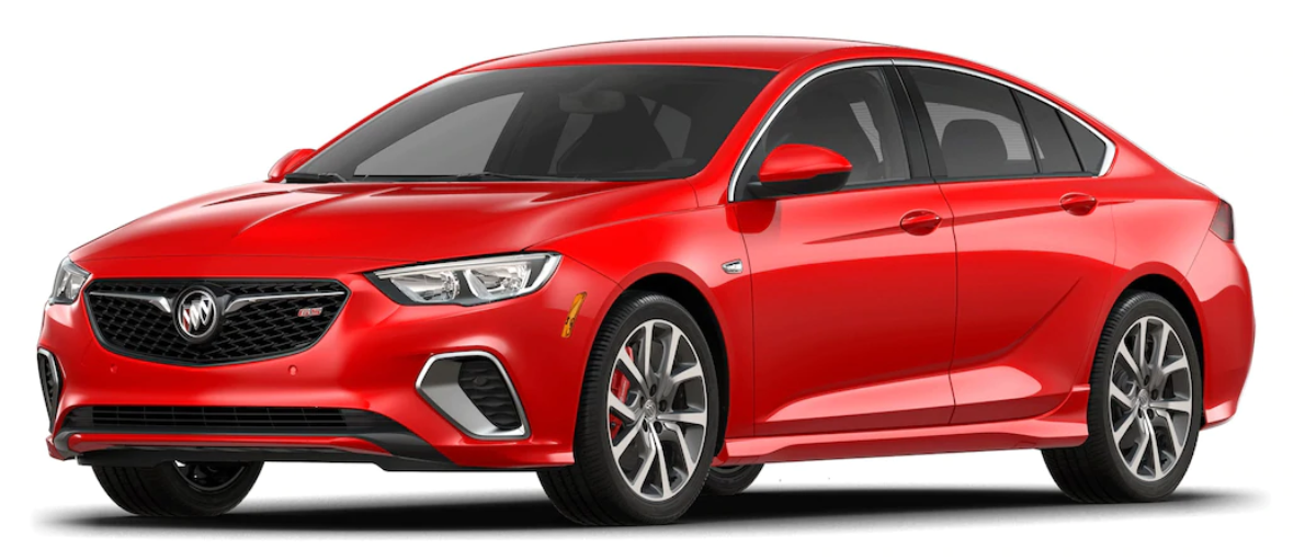 2018 Buick Regal GS Sport Red