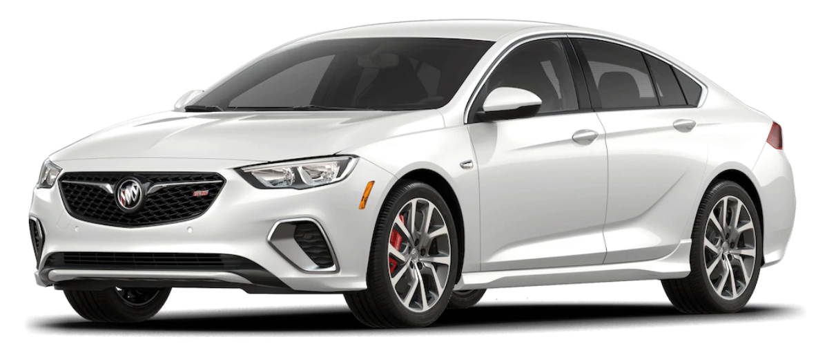2018 Buick Regal GS White Frost Tricoat