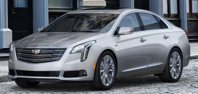2019 Cadillac XTS Exterior Color Options