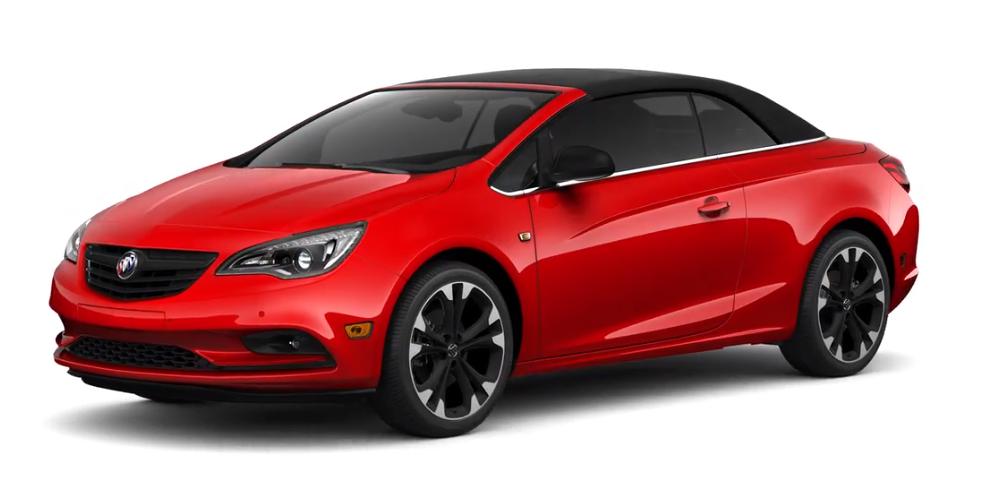 2019 Buick Cascada Sport Red