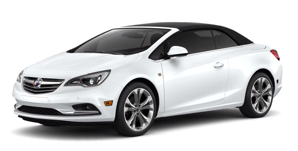 2019 Buick Cascada Summit White