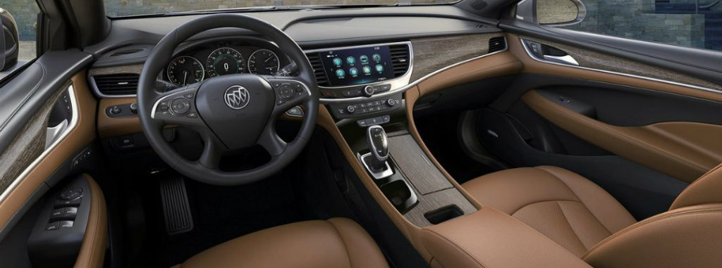 2019 Buick LaCrosse Interior Features