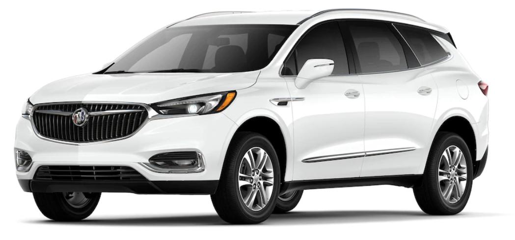 2019 Buick Enclave Exterior Color Options