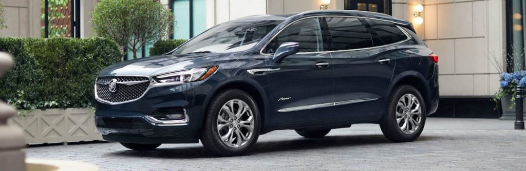 2019 Buick Enclave Exterior Color Options