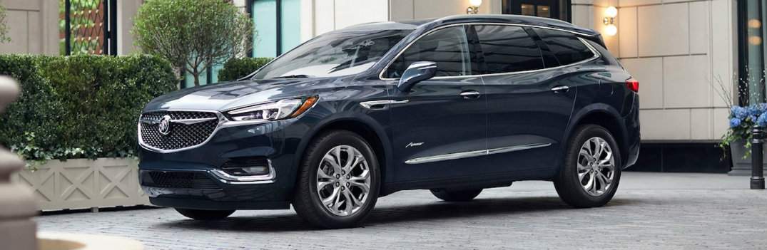 What are the Available Color Options for the 2019 Buick Enclave?