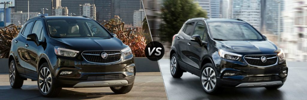 Oil Change Deals >> 2019 Buick Encore vs 2018 Buick Encore