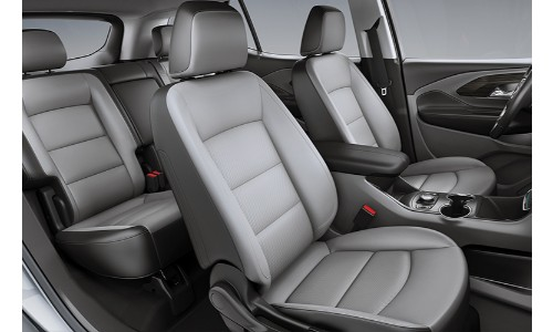 2019 GMC Terrain interior shot of seating upholstery and cabin space