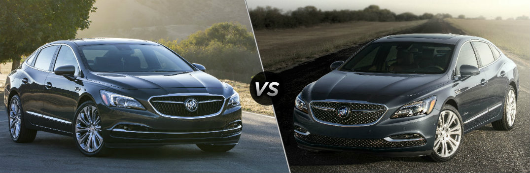 How is the Buick LaCrosse Different from the Buick LaCrosse Avenir?