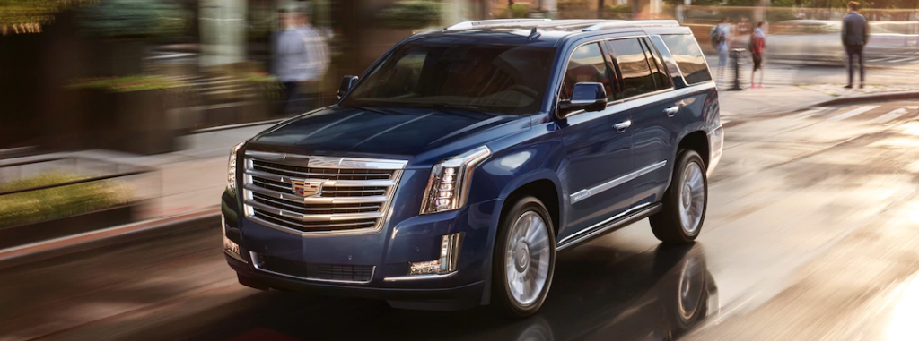 2019 Cadillac Escalade Exterior Color Options