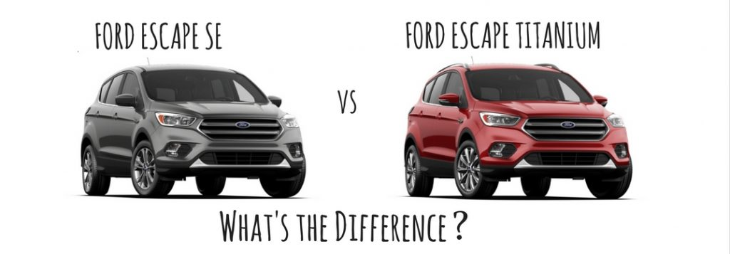 What's the Difference Between the Ford Escape SE and the ...