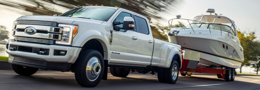 2018 ford super duty limited f-series towing