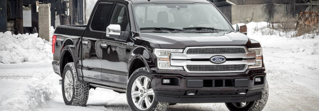 How does the 2018 Ford F-150 drive in snow?