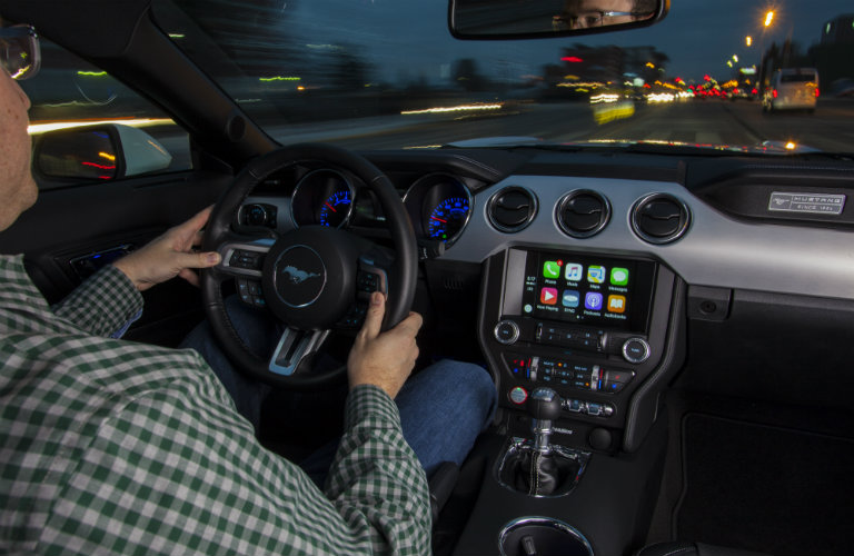 What Ford models are compatible with Apple CarPlay?