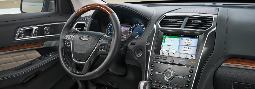 Does the 2018 Ford Explorer have navigation included?