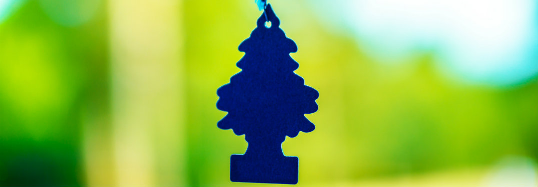 blue little tree air freshener
