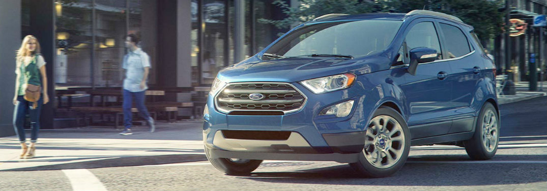 2018 Ford EcoSport parked on street