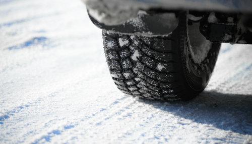 Tire in the winter