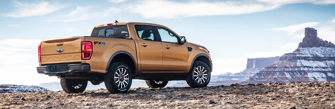 2019 Ford Ranger on the frontier