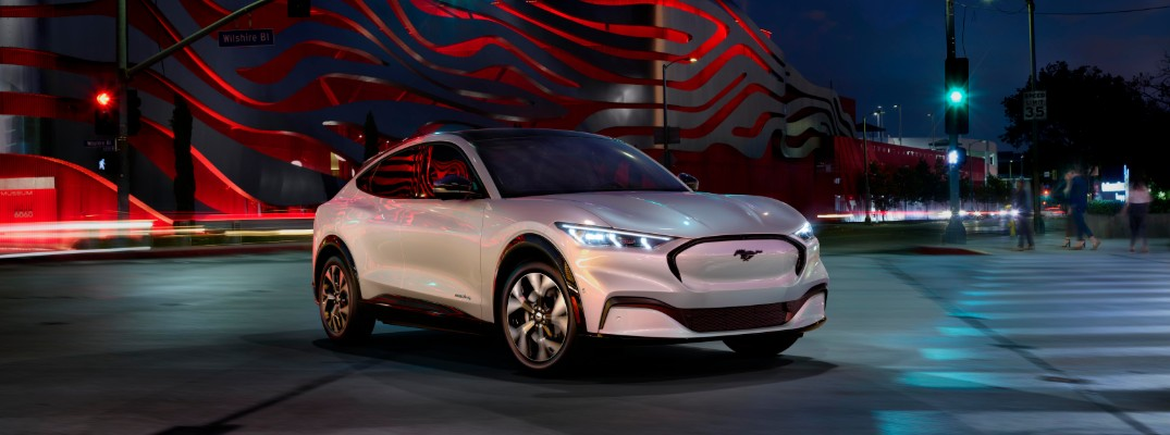 2021 Ford Mustang Mach-E electric SUV