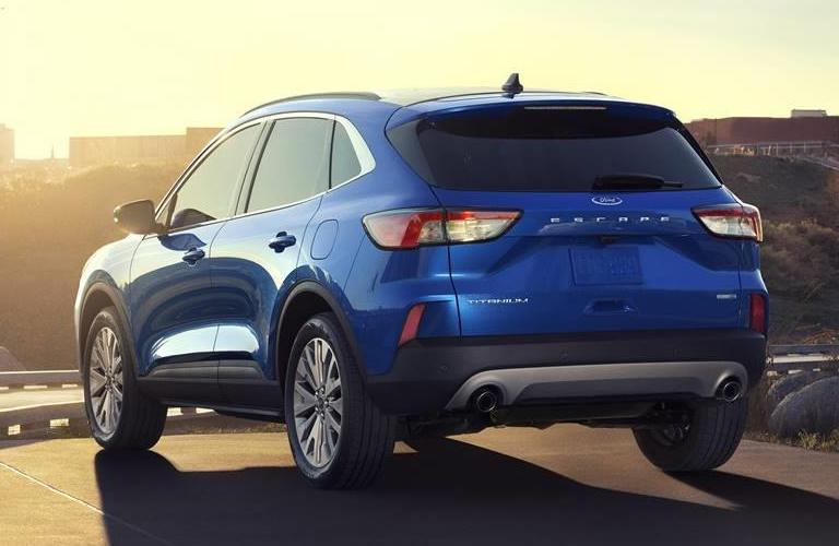 2020 Ford Escape in blue