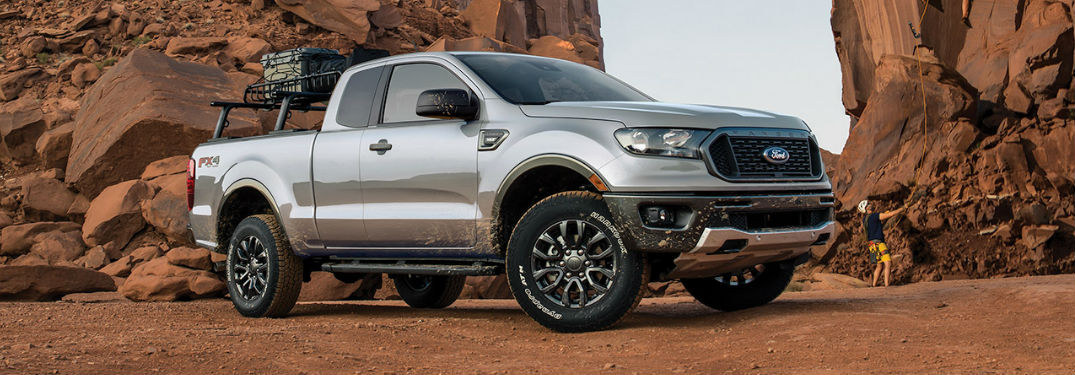 2020 Ford Ranger in gray