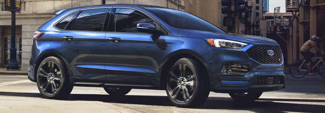 What safety features are inside the 2020 Ford Edge?