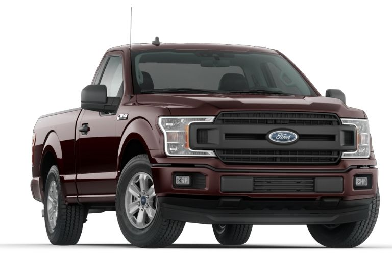2020 Ford F-150 Magma Red