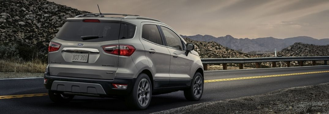 Does the 2020 Ford EcoSport Feature an All-Wheel Drive?