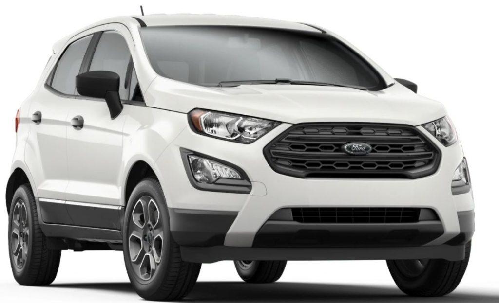 2020 Ford EcoSport Diamond White