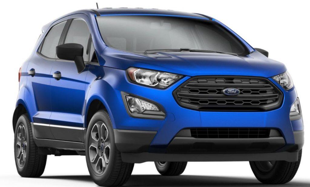 2020 Ford EcoSport Lightning Blue