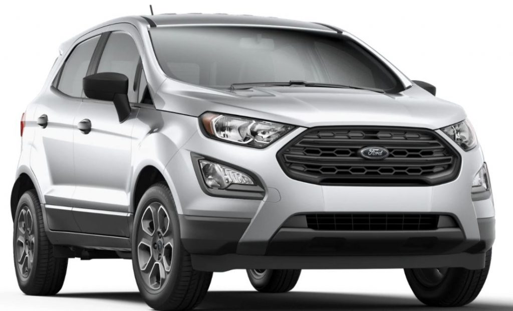 2020 Ford EcoSport Moondust Silver