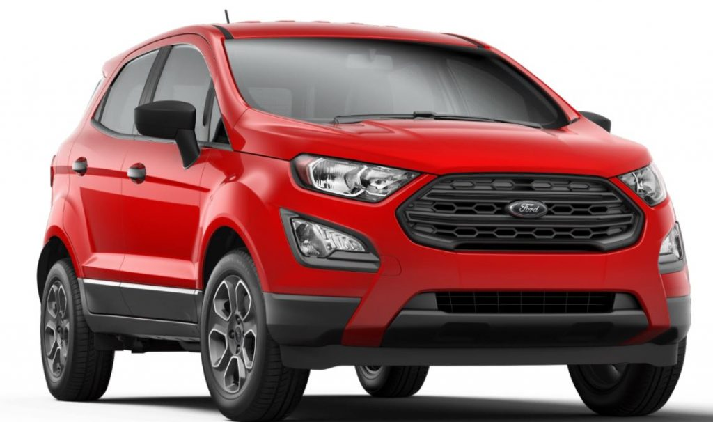 2020 Ford EcoSport Race Red